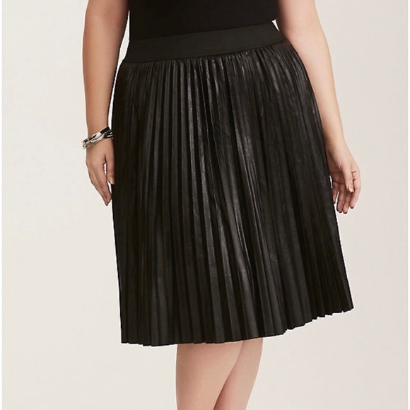 08b87afd1b torrid Skirts | Womens Faux Leather Midi Skirt | Poshmark